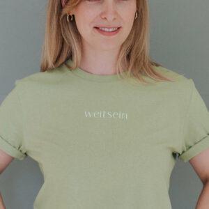 """Travel T-Shirt """"weitsein"""""""
